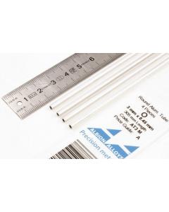 Aluminium Buis 3.0mm, 4 stuks Albion Alloys 3