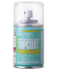 Mr. Premium Topcoat Flat Spray 88ml Mr. Hobby 603