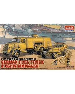 1/72 German Fuel Truck & Schwimmwagen (ACA13401)
