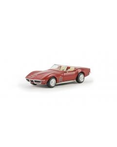 H0 Corvette  C3  Cabrio,  signalrot (BRE19969)