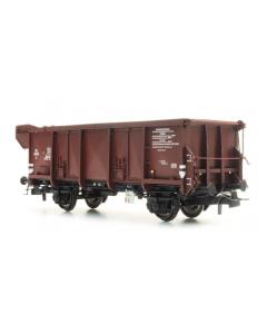 H0 NS GTU Luikendakwagen Tx 40695 bruin III - Artitec 20.360.02 Artitec 2036002