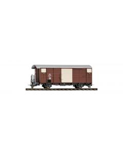 H0m RhB Gb 5089 Gesloten Goederenwagen Bemo 2250109