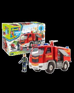 1/20 Junior Kit - Brandweerwagen met figuren (REV00819)