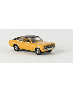 H0 Ford  Taunus  Coup├®  GXL  gelb/ (BRE19206)