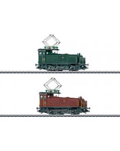 """H0 SBB Set Rangeerlocomotieven Ee 3/3 """"Halbschuh"""", 2 stuks (MAR36332)"""