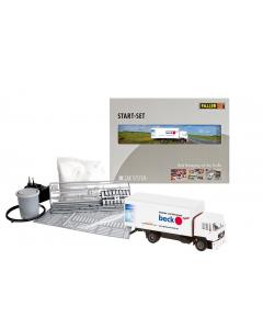 H0 Car Systeem: Startset Vrachtwagen MAN Faller 161505