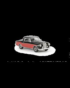 H0 MB  220  S  Coupe,  schwarz/rot Brekina 13504