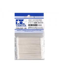 Craft Cotton Swab Triangular Extra Small (50 stuks) Tamiya 87105