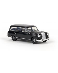 H0 Mercedes 180 Kombi schwarz Brekina 13464