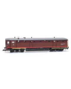 H0 NS Ongevallenwagen 157106 depot Den Haag, tijdperk III, bruin Artitec 2024901
