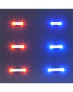 H0 Knipperlichten elektronica, 13,5 mm, oranje Faller 163760