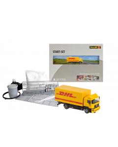 H0 Car System: Startset Vrachtwagen DHL Faller 161607