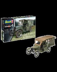 1/35 US Model T 1917 Ambulance (REV03285)