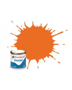 Nr.18 - Oranje, Glans 14ml Humbrol 0196