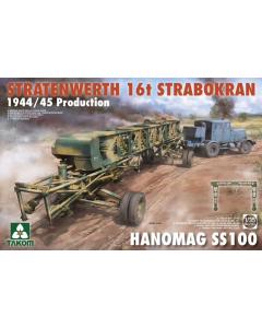 1/35 Stratenwerth 16T Strabokran 1944/45 Production (TAK2124)