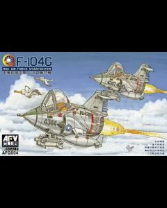 ROC F-104G Starfighter Eggplane, 2 stuks (Q-Series) (AFVQS04)