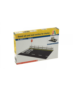 1/24 Guard rail and road section for display (ITA3864)