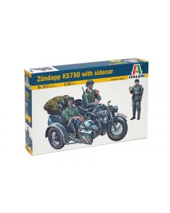 1/35 Zundapp KS750 with sidecar (ITA0317)