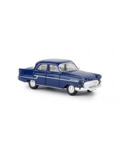H0 Opel Kapitän TD dunkelblau, 1956, (BRE20881)