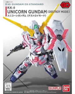 SD Ex-Std : RX-0 Unicorn Gundam [Destroy Mode] BANDAI 04433
