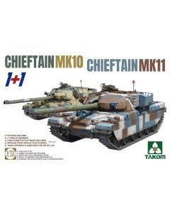 1/72 Chieftain MK 10 & Chieftain MK 11 1+1 (TAK5006)