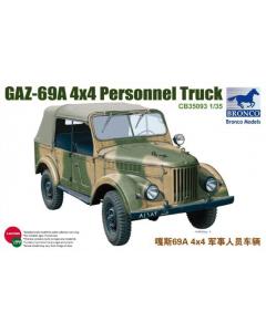 1/35 GAZ-69A 4x4 Personal Truck (BRO35093)