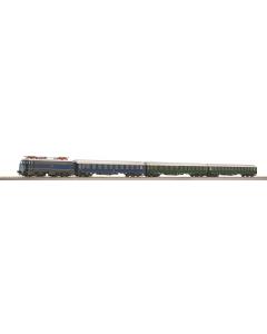 H0 DB br E10 E-Loc Rijtuigen, geluid en beweegbare deuren (ROC41274)