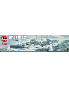 1/600 HMS Belfast Airfix 04212