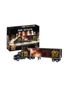 3D Puzzle QUEEN Tour Truck - 50th  Anniversary (REV00230)