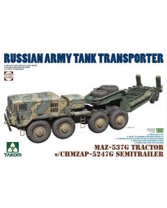 1/72 Russian  MAZ-537G Tractor w/ CHMZAP-5247G Semitrailer (TAK5004)