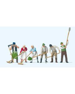 H0 Landarbeiders hooien (PRE10045)