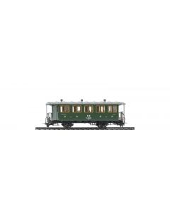 H0m RhB C.2012 Historischer Dampfzugwagen - Bemo 3234 142 Bemo 3234142