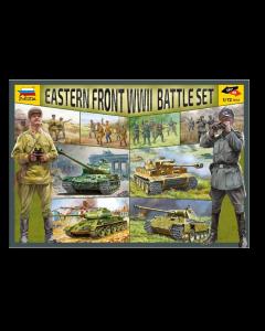 1/72 Battle Set: Eastern Front WWII Zvezda 5203
