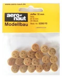 Juffer 10mm, 20 stuks (Aeronaut 5280/10) Aeronaut 528010