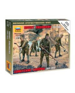 "1/72 Soviet Engineers (1941-1942), snap fit ""Art of Tactic"" (ZVE6108)"