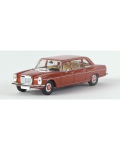 H0 Mercedes 220 D lang (V115) ohne Kartonschuber rot Brekina 13402