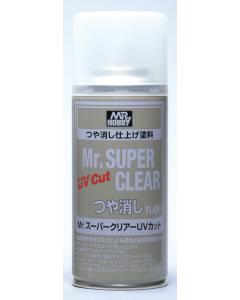 Mr. Super Clear UV Cut Flat Spray 170ml (MRHB523)