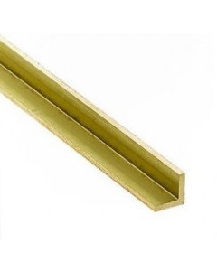 Messing L-Profiel (Hoekprofiel) 5x5mm, 1 stuk Albion 5