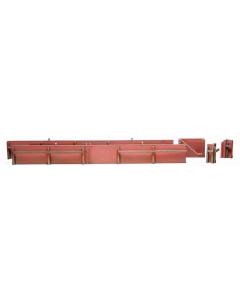 H0 Kademuur uit baksteen (bouwpakket) (ART10143)