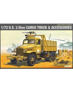 1/72 US 2.5T Cargo Truck & Accessories (ACA13402)