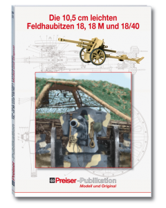 """Boek: """"Die10,5 cm leichten Feldhaubitzer"""" (PRE96000)"""