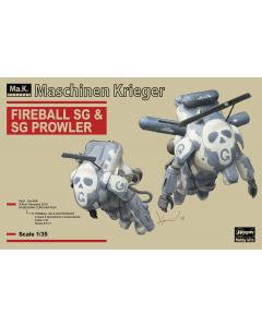 1/35 Fireball SG & SG Prowler, Maschinen Krieger - Hasegawa 64113 Hasegawa 64113