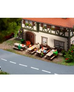 H0 4 Picknickbanken Faller 180304