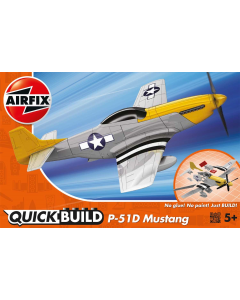 QUICKBUILD P-51D Mustang Airfix 6016