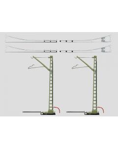 H0 Bovenleidingset K-Rail (MAR7505)