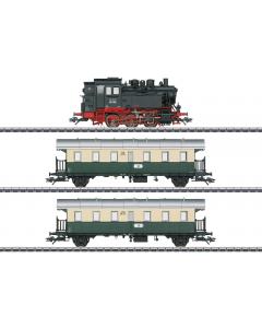 H0 VSM Set Stoomloc BR 80 met personenwagens, 3-delig (MAR26618)