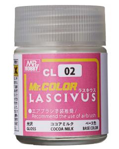 Mr. Color Lascivus Cocoa Milk Gloss 18ml Mr. Hobby 02