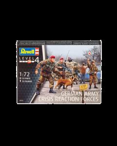 1/72 German army crisis reaction forces (REV02522)