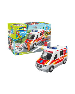 1/20 Junior Kit - Ambulance met figuren (REV00824)