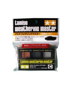 Weathering Master C Set Orange Rust, Gun Metal, Silver (TAM87085)